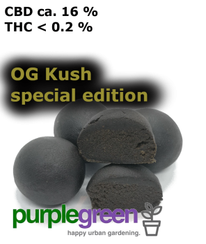CBD Jelly Hash OG KUSH SPECIAL EDITION
